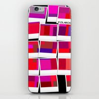 polaroid iPhone & iPod Skins featuring Polaroid by LoRo  Art & Pictures