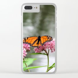 Monarch at Waterford Bend Park 1 Clear iPhone Case