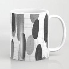 Stone in black and white Mug