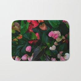 Colorful of Anthurium Bath Mat