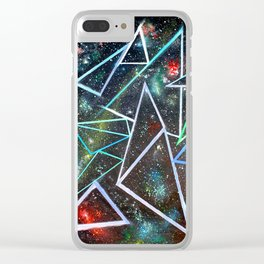 My Father's Star Charts Clear iPhone Case