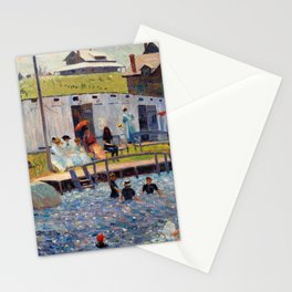 Pierre-Auguste Renoir - The Bathing Hour, Chester, Nova Scotia Stationery Cards