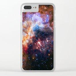 Westerlund Star Field Clear iPhone Case