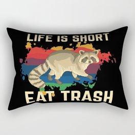 Lustiges Waschbär Shirt & Geschenk Rectangular Pillow