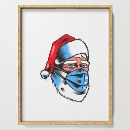 Santa Claus real Serving Tray