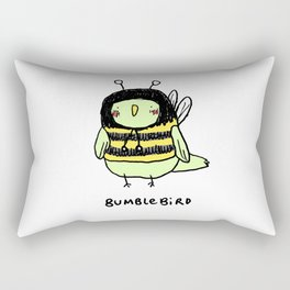 Bumblebird Rectangular Pillow