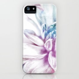 water color flower iPhone Case