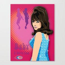 Ronnie Subway Soul Canvas Print
