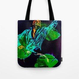 DANCE OVER GREEN MOON Tote Bag