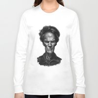 clint eastwood Long Sleeve T-shirts featuring Clint Eastwood by Thomas Bryant