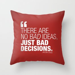 Design Famous Quotes Throw Pillow