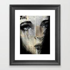 a maze Framed Art Print
