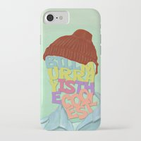 murray iPhone & iPod Cases featuring Bill Murray by Dino cogito