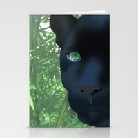 panther Stationery Cards featuring Panther by ShannonMD