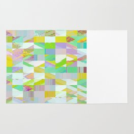 Pixel Dust Muted colors Rug