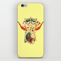 psychology iPhone & iPod Skins featuring Mystical uterus by Laura Nadeszhda