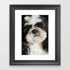 Your best friend. Framed Art Print
