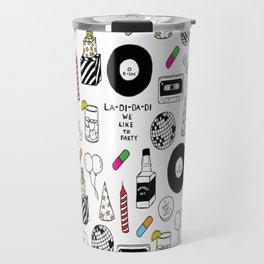 """""""La-Di-Da-Di"""" Illustration Set Travel Mug"""