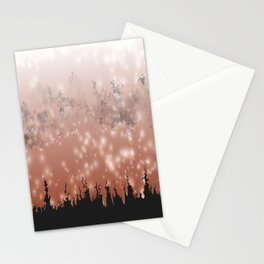 Demoralized Forest Stationery Cards
