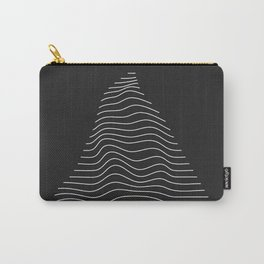 Minimal Triangle Warp Carry-All Pouch