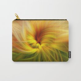 Sunflowers Twirled Carry-All Pouch