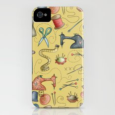 Sewing tools iPhone (4, 4s) Slim Case