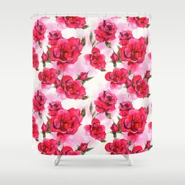 Flowers & Flowers Shower Curtain