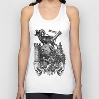 pagan Tank Tops featuring Pagan wiccan by DIVIDUS