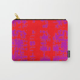 jitter, red violet, 3 Carry-All Pouch