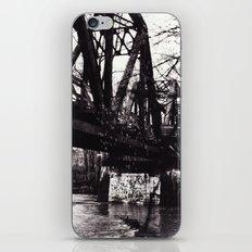 Stencil under the Bridge iPhone & iPod Skin