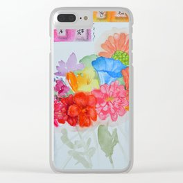 Summr Study 2 Clear iPhone Case