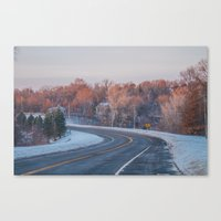 minnesota Canvas Prints featuring Minnesota by Kiersten Marie Photography