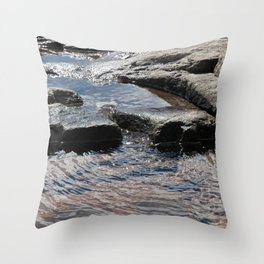Trickle on Down Throw Pillow