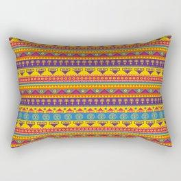 vivid mexican pattern Rectangular Pillow