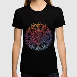 Amazing Floral Mandala ART T-shirt
