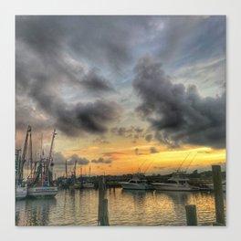 Creekside Sunset Canvas Print