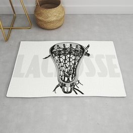 Lacrosse Negative Rug