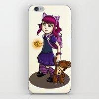 annie hall iPhone & iPod Skins featuring Annie by Anais.Lalovi