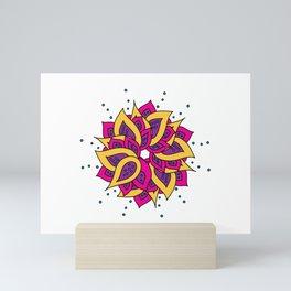 Lotus Mandala Mini Art Print