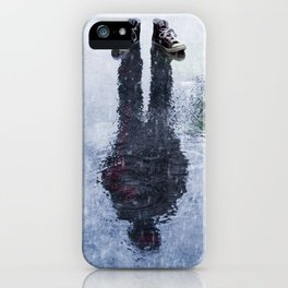 The Invisible Man Front View iPhone Case
