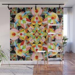 Kaleidoscope Fiesta Wall Mural