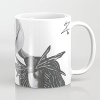 jack skellington Mugs featuring Jack Skellington by DΔZΞD.