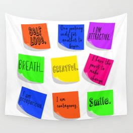Affirmations Wall Tapestry