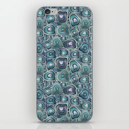 agate mosaic iPhone Skin