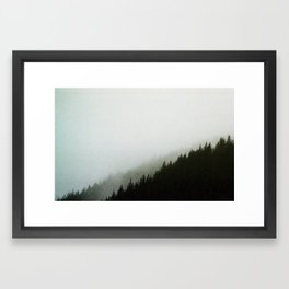 Moonshine Valley Mist Framed Art Print