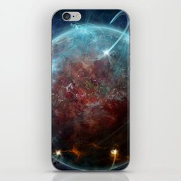 Planet Attack iPhone Skin