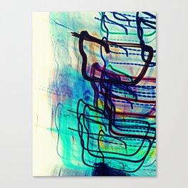 Teal Destination Canvas Print
