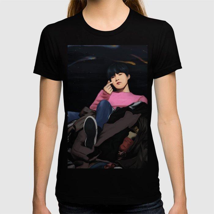 BTS SUGA SPRING DAY FANART T-shirt