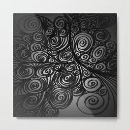 Motion Sickness Metal Print