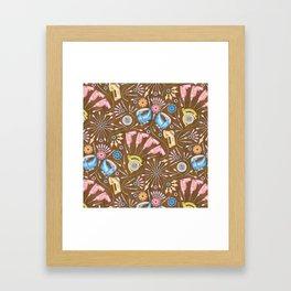 Flower Power Tools Framed Art Print